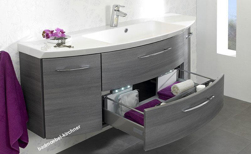 gt waschtische gt waschtisch mit integriertem waschbecken eiche. Black Bedroom Furniture Sets. Home Design Ideas