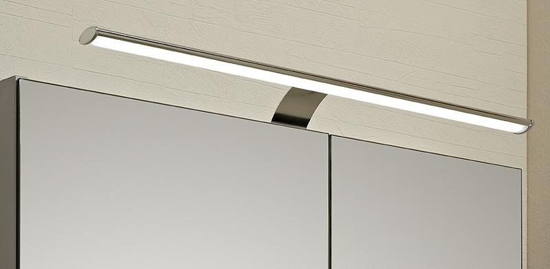 Pelipal Badmöbel Spiegelschrank NEUTRAL 130 cm doppelt verspiegelt